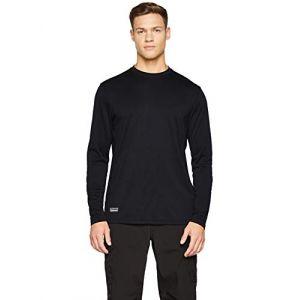 Under Armour T-shirt à manches longues Tactical UA Tech pour homme Black - Taille LG