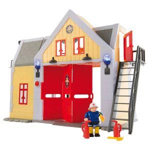 Smoby Caserne de pompiers Sam le Pompier