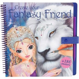 Kontiki Create your Fantisy Friends - Album de coloriage Top Model