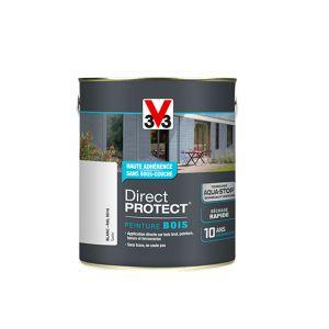 V33 Direct Protect satin blanc 2,5L - Peinture extérieure bois