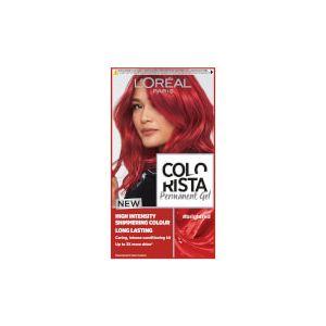 L'Oréal Colorista Bright Red Permanent Gel Hair Dye