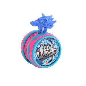 Auldey BLAZING TEAM Yo-yo Guerrier des Créatures Niveau 1 - Blue Wolf