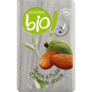 Monoprix Bio Savon bio à l'huile d'amande douce - Le savon de 150g