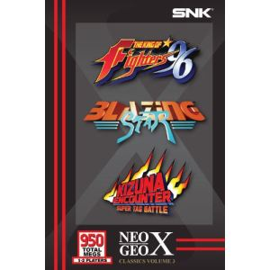 Classics Volume 3 : The King of Fighters 96 + Blazing Star + Kizuna Encounter Super Tag Battle [Neo Geo X]