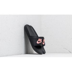 Nike Claquette Benassi pour Femme - Noir - Taille 38 - Femme