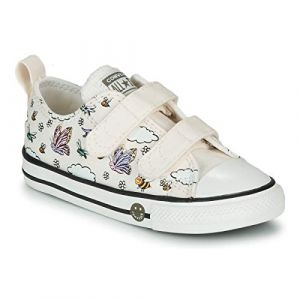 Converse Chaussures enfant CHUCK TAYLOR ALL STAR 2V CAMP - Couleur 20,21,22,23,24,25,26 - Taille Blanc