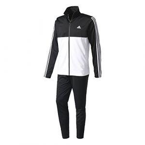 Adidas Back2bas 3S TS Survêtement pour Homme M Multicolore (Negro/Blanco / Blanco)