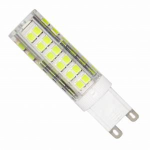 Silamp Ampoule LED G9 SMD2835 7W 220V 75LED 360 - couleur eclairage : Blanc Froid 6000K - 8000K