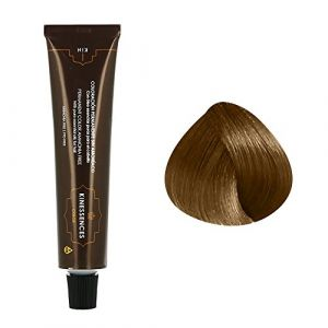Image de Kin Cosmetics Coloration permanente sans ammoniaque aux 5 huiles 8.3 : Blond Clair Doré Sans ammoniaque, Crème 60ml