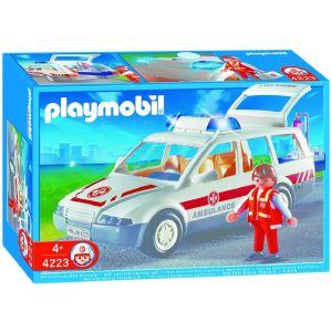 Playmobil 4223 - Ambulancier avec voiture d'urgence
