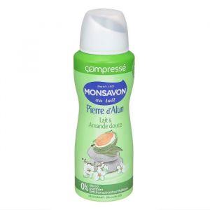Monsavon Déodorant spray amande compressé