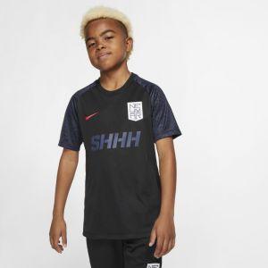 Nike Haut de footballà manches courtes Dri-FIT Neymar Jr. pour Enfant plus âgé - Noir - Taille M