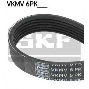 SKF Courroie d'accessoires VKMV6PK976