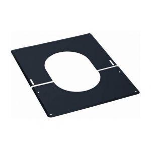 Ten Plaque de finition 30° a 45° inox 230 noire
