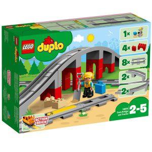 Duplo 10872 Trains - Les rails et le pont du train