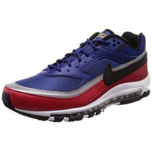 Nike Chaussure Air Max 97/BW - Homme - Bleu - Taille 44.5
