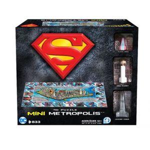 4D Cityscape Puzzle Superman Ville de Metropolis