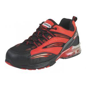 KS Tools Chaussures de sécurité - Modèle coussin d'air rouge