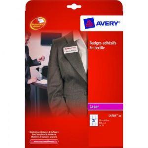 Avery-Zweckform L4784-20 - 540 badges adhésifs (29,6 x 63,5 mm)