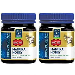 Manuka Health 2x Miel de Manuka MGO 400+ 250 g