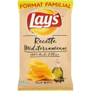 Lay's Chips recette mediterraneenne goût nature