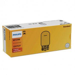 Philips 10 ampoules WY21W 12V 21W Wx3x16d