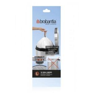 Brabantia 10 sacs poubelles en plastique (45 L)
