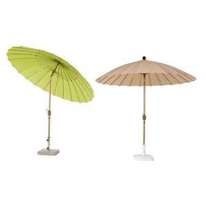 Hévéa SHANGAI - Parasol sans lambrequins inclinable