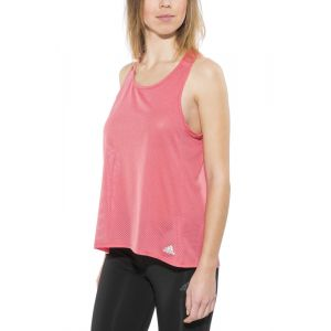Adidas Response - T-shirt manches courtes running Femme - rouge T-shirts course à pied