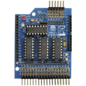 Velleman Shield d'extension avec entrées analogiques KA12 adapté aux cartes Arduino 1 pc(s)