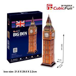 CubicFun Big Ben - Puzzle 30 pièces