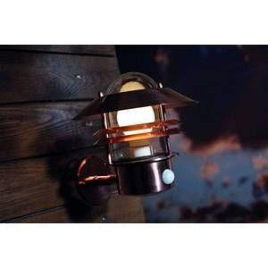 Nordlux Applique BLOKHUS détecteur E27 60W Cuivre SG 25031030