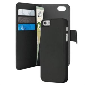 Puro IPC5BOOKC3BLK - Coque de protection pour iPhone 5 / 5S / SE