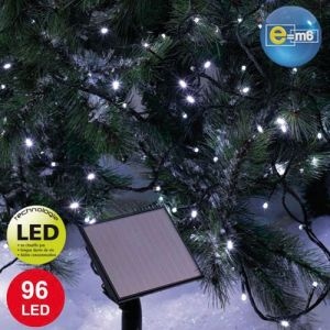 Codico Guirlande solaire 96 LED blanches