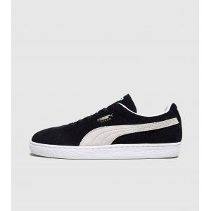 Puma Suede Classic+ - Sneakers Basses - Mixte Adulte - Noir (Black/White 03) - 42.5 EU (8.5 UK)