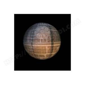 Star Wars - Suspension luminaire Etoile de la mort 30 cm
