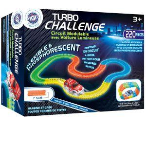 Circuit modulable 220 pièces Turbo Challenge