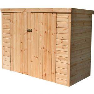 Madeira Coffre de rangement bois KIKKA traité autoclave - 1,9 m2 - 14 mm