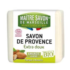 Maitre Savon de Marseille Savon de Provence extra doux Amande Bio