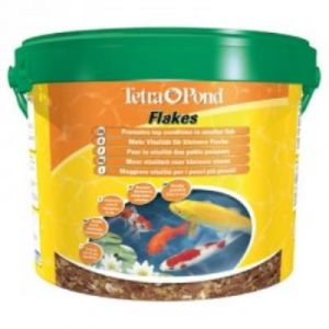 Tetra Alimentation Pond Flakes pour poissons de bassin 10 litres
