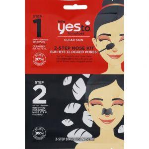 Yes to Kit d'élimination des pores obstrués du nez en deux étapes