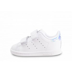 Adidas Stan Smith à Scratch Iridescente Bébé 22 Baskets