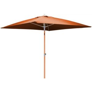 Proloisirs Parasol carré inclinable (200 x 200 cm)