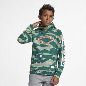 Image de Nike Sweatà capuche Jordan City of Flight pour Garçon plus âgé - Vert - Couleur Vert - Taille S