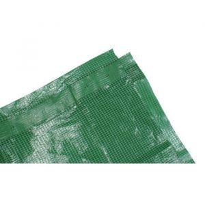 Tech-It Bâche armée lourde 180g/m² - 4 x 6m - Verte - Les bâches de protection développées par Tec Hit est un accessoire très utile pour protéger certains endroits
