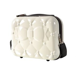 Chantal Thomass Vanity Case Rigide Blanc Ivoire Coup de Foudre CT200B-17