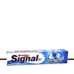 Signal Dentifrice soin fraîcheur avec bain de bouche active clean