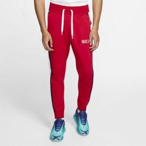 Nike Pantalon en tissu Fleece Air Homme - Rouge - Taille XL - Male