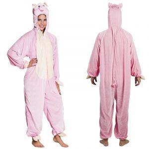 Costume de Cochon en peluche - Taille Enfant
