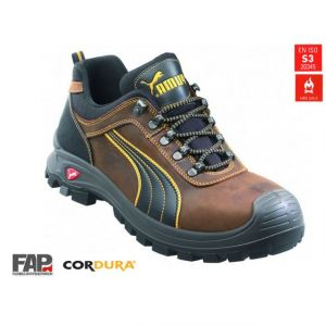 Puma Safety Chaussure basse de sécurité bâtiment, S3 HRO 640730, Taille : 40 -